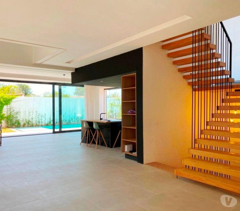 Location Appartement - Maison Rabat - Photos pour Superbe villa avec piscine proche de Descartes Rabat