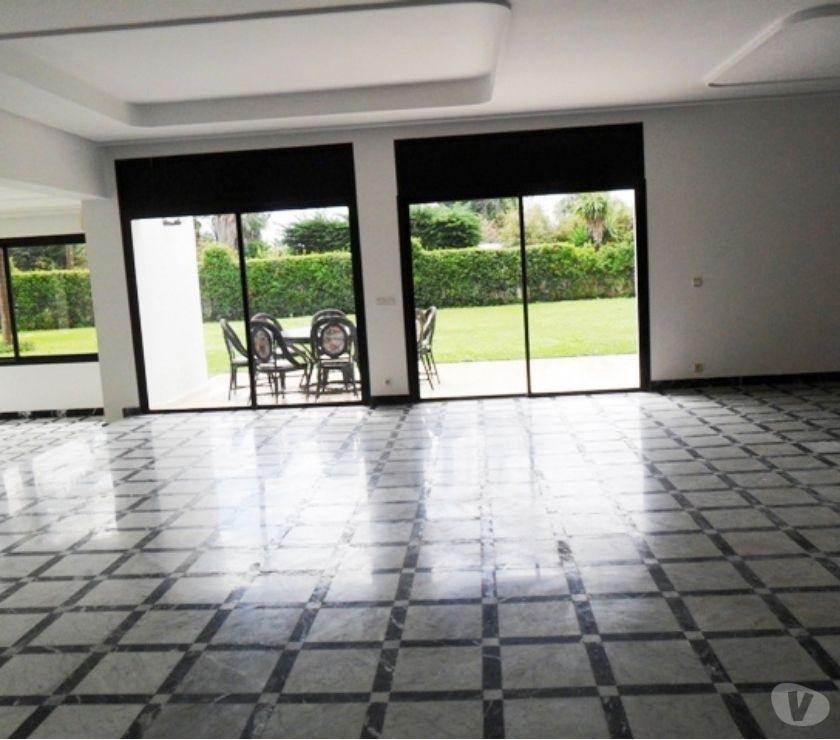 Location Appartement - Maison Rabat - Photos pour A louer Villa à Souissi Rabat