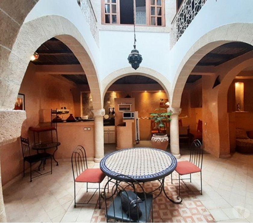 Vente Appartement - Maison Essaouira - Photos pour Vente: Riad entièrement rénové, au cœur de la médina d'Essao