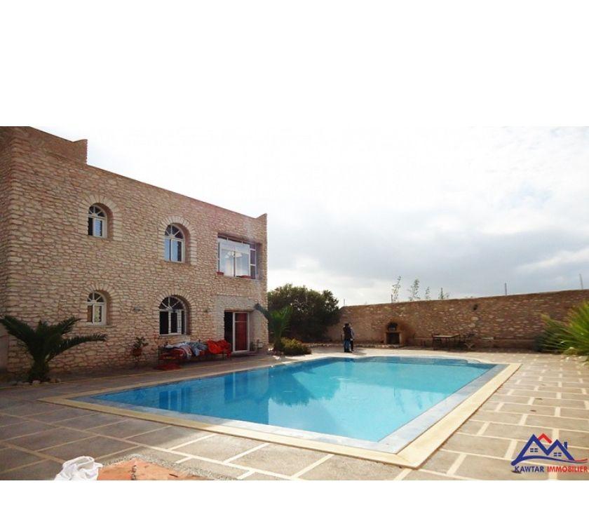 Vente Appartement - Maison Essaouira - Photos pour belle villa avec piscine a 12 km d'Essaouira