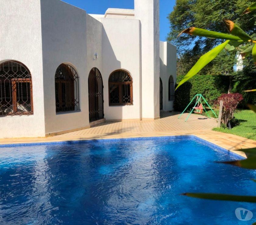 Location Appartement - Maison Rabat - Photos pour Très belle villa avec piscine à louer à souissi