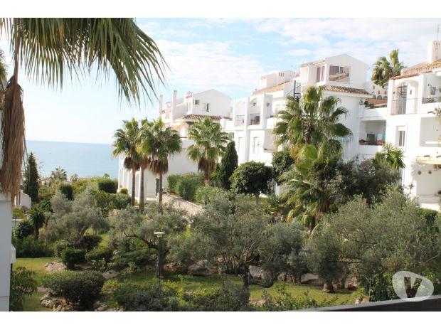 Location à l'étranger - Photos pour Appartement en rez de jardin tropical Vue Mer ! Mijas Costa