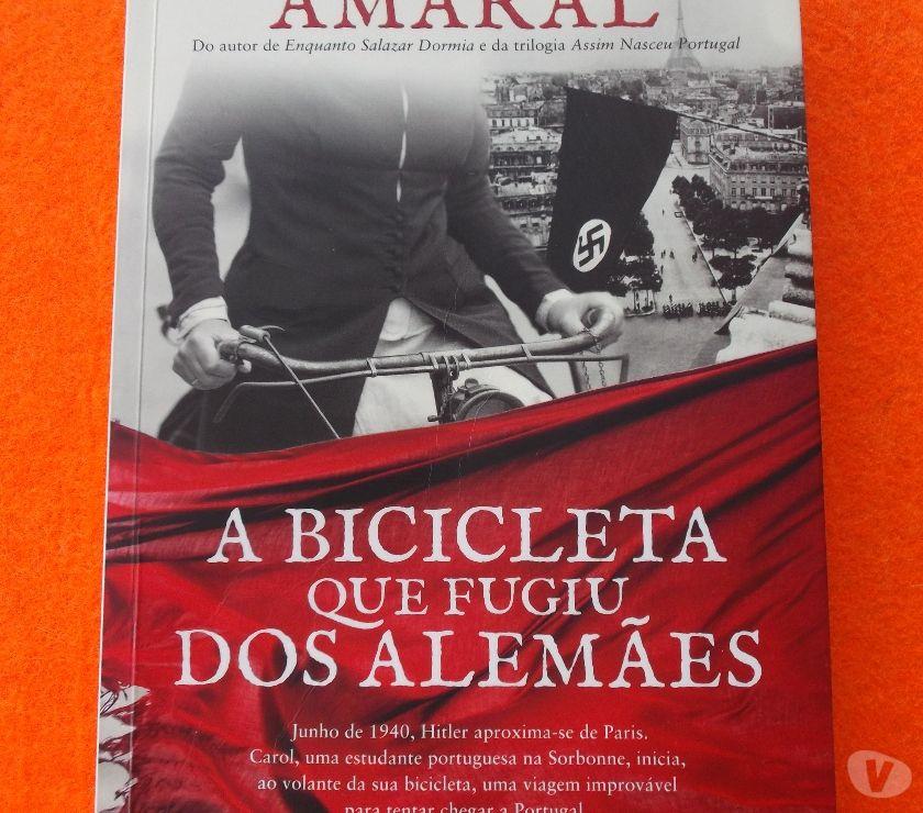 DVDs a Venda Amadora - Fotos para A Bicicleta que Fugiu dos Alemães - Domingos Amaral