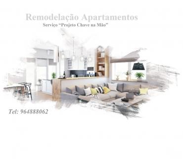 Fotos para Remodelação de Apartamentos, serviço