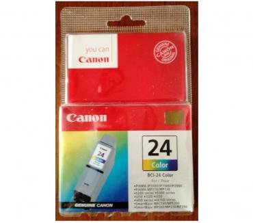 Fotos para Tinteiro Canon BCI-24 Color Original Novo